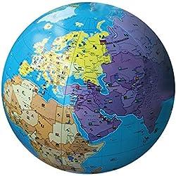Caly Sarl–060F–Globo hinchable mundo–talla 85cm