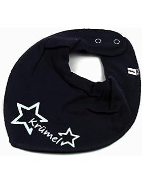HALSTUCH Stern mit Namen oder Text personalisiert für Baby oder Kind verschiedene Ausführungen