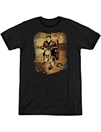 Elvis - Mens Hit The Road Ringer T-Shirt
