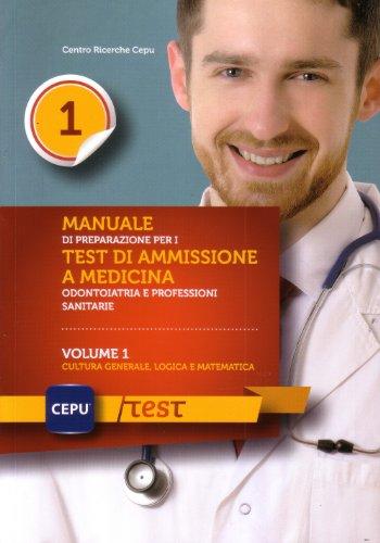 Manuale di presentazione per i test di ammissione e medicina odontoiatria e professioni sanitarie