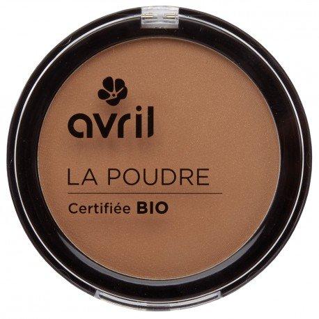 Avril - Cipria abbronzante, biologica certificata, da 7g, colore: Cammello