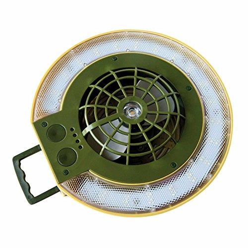 Pelzer Zeltlampe Campinglampe & Ventilator - Bivy Light + Fan 4000mA LiIon Akku