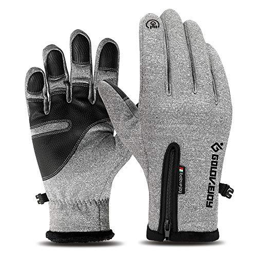 Youtaimei Handschuhe Thermische Winter-Touchscreen-Handschuhe Gemütlich -