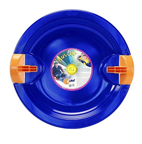 Kunststoff-Schneerutscher Kunststoff blau
