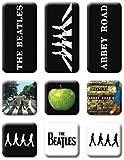 The Beatles Abbey Road 9 Piece Fridge Magnet Set: Beatles Abbey Road Set Von 9 Mini-Kühlschrankmagnete (ro) (Audio CD)