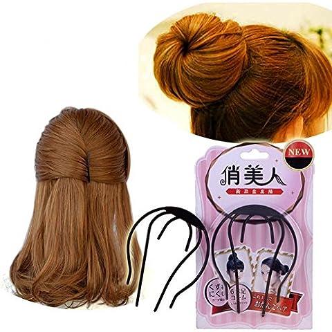 XYXY Cosmetica da salone capelli ciambella spugna perm aste