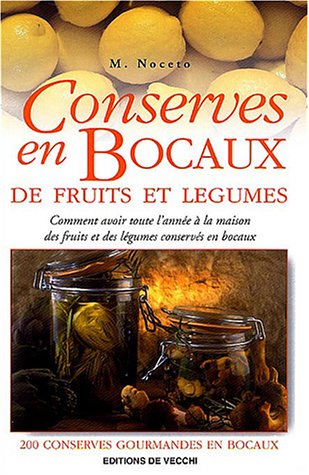 Conserves en bocaux de fruits et légumes