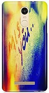 Expertdeal Best Offer 3D Printed Hard Design Mobile Back Case Cover For Xiaomi Redmi Note 3