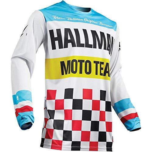 Thor Hallman Hopetown Motocross Jersey 2019 Weiss blau (Motocross Jersey Usa)