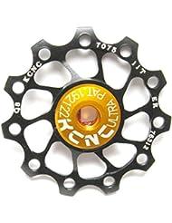 KCNC Jockey Wheel Ultra - Roldana de cambio - 11 dientes negro 2014