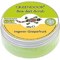 Greendoor macchia sale marino pompelmo zenzero, scrub al sale marino