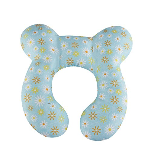 KAKIBLIN Baby Travle Pillow for Head and Neck Support Pillow for Pushchair,Car Seat ,Travel 51B88ZlXwQL
