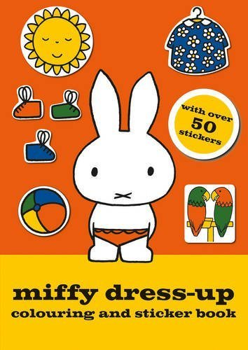 Miffy Dress-up Colouring and Sticker Book by Simon & Schuster UK (2014-02-27)