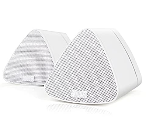 Bluetooth Speakers - August MS515 - Wireless Two Unit Stereo Set