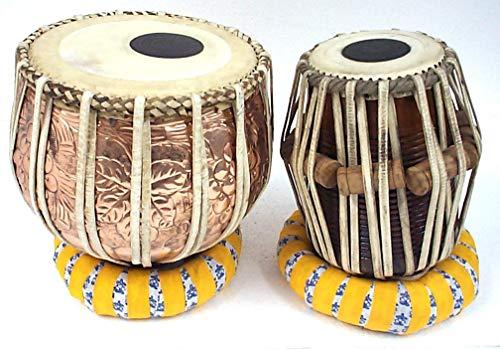 Modfash Juego de tambor de tabla de diseño floral