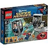Lego DC Universe Super Heroes 76009 - Superman Black Zero auf der Flucht