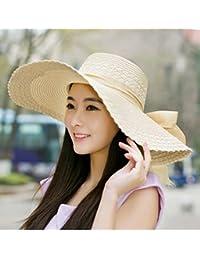 Version Coréenne Arc Chapeau De Plage Chapeau De Paille Chapeau De Soleil D'été Chapeau De Soleil Chapeau De Pêcheur Chapeau Plat
