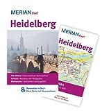 Heidelberg: Mit Kartenatlas im Buch und Extra-Karte zum Herausnehmen (MERIAN live) - Rüdiger Tschacher