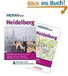 Heidelberg: Mit Kartenatlas im Buch u...