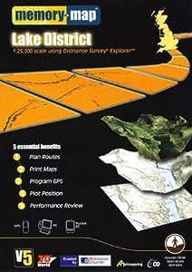 Memory-Map V5 Lake District OS 1:25,000