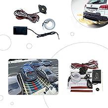Sensor de aparcamiento INVISIBLE electromagnetico, sin agujeros en tu parachoques.