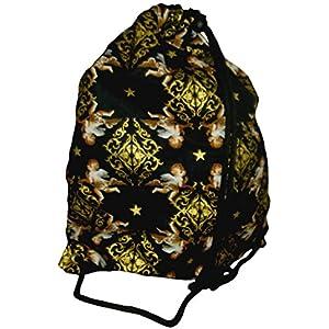 Engel Sterne Gold Turnbeutel Hipster String Bag Wäschebeutel