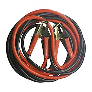 JBM 52069 Cable de arranque con pinzas, 12 mm x 2, 2,5 m