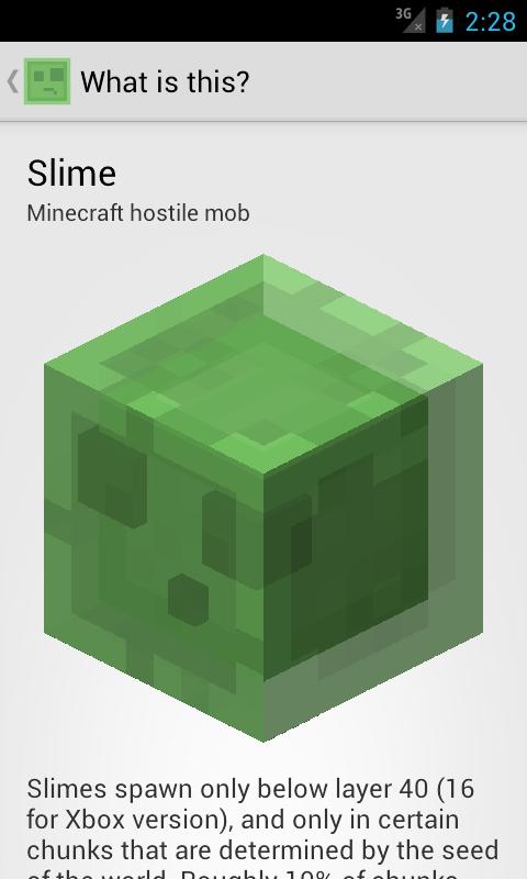 Slime Finder for Minecraft