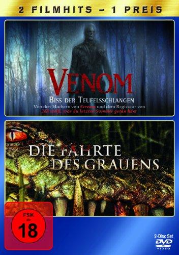Venom - Biss der Teufelsschlangen / Die Fährte des Grauens [2 DVDs]