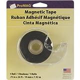 ProMag Matériau Adhésif magnétique Dévidoir de ruban adhésif 1,9x 26-feet
