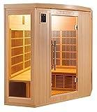 Sauna cabina ad infrarossi sole bianco 3-4 posti Sn-SOLEILBL3C