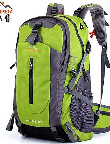 ZQ 36-55L L Tourenrucksäcke/Rucksack / Wandern Tagesrucksäcke / Rucksack Camping & Wandern / Klettern / Reisen DraußenWasserdicht / green and black