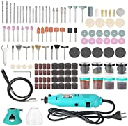 AMERTEER 228-Piece Electric Grinder drill engraver +Variable Speed Cutting Engraving Grinding Sanding Tools AC