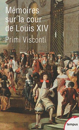 Livres gratuits Mémoires sur la cour de Louis XIV pdf, epub