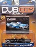 Jada Dub City 1:64 1962 Cadillac Series 62 ORANGE with Flames by Dub City