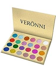 Professionnel 24 Couleur Smokey Ombre Fards à Paupières Glitter Shimmer Imperméable et Maquillage Eyeshadow Palette