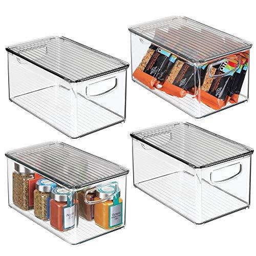 MDesign Juego 4 cajas organizadoras asas – Organizador