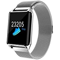 Reloj inteligente con pantalla colorida con frecuencia cardíaca Fitness Tracker
