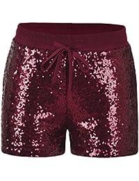 rote nike shorts damen