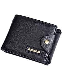 f0513b8343 KISSLI Portafoglio uomo in pelle porta carte di credito portafoglio  portafoglio uomo portafogli frizione uomo portafogli