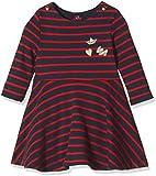 Petit Bateau Baby-Mädchen Kleid Robe ml, Mehrfarbig (Smoking/Froufrou 56), 86 (Herstellergröße: 18m/81cm)