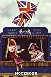 "Notebook: Punch Judy Show , Journal for Writing, College Ruled Size 6"" x 9"", 110 Pages"