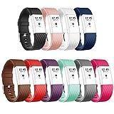 Vancle für Fitbit Charge 2 Armband, Sonder Edition einstellbare Ersatzarmbänder für Fitbit Charge...