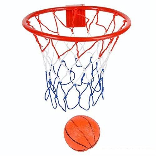 Kidsco Over The Door Basketball Hoop(8-Inch) With Mini Ball Set