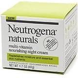 Neutrogena Naturals Nourishing Night Cream 1.7 oz (48 g) Pack of 6