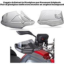Kappa–Deflettori trasparenti per paramani originali BMW R 1200GS, anni '13/'14