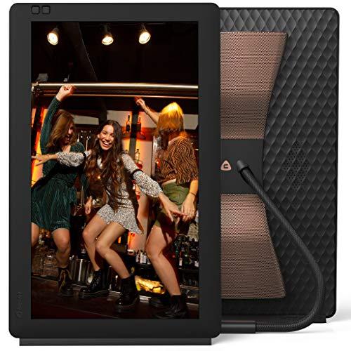 "Nixplay Seed Wave 13.3\"" Bluetooth digitaler Smart Bilderrahmen Full HD - Teilen Sie Momente sofort über die App oder E-Mail"