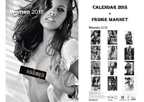 Frauen Sexy OFFIZIELLER KALENDER 2018+ max POWER Sport Auto, Kühlschrank Magnet (Sport-kühlschrank)