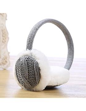Autunno e Inverno con caldi cashmere filato per maglieria Confezione ear cuffie antirumore semplice signora bella...