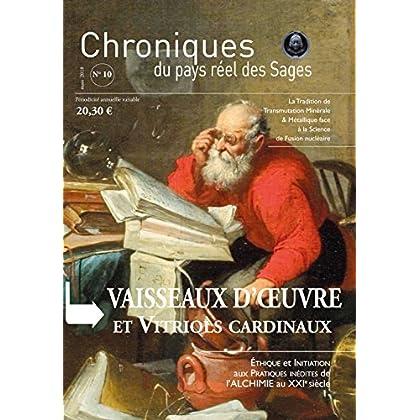Cprs N 10- Vaisseaux d'Oeuvre et Vitriols Cardinaux